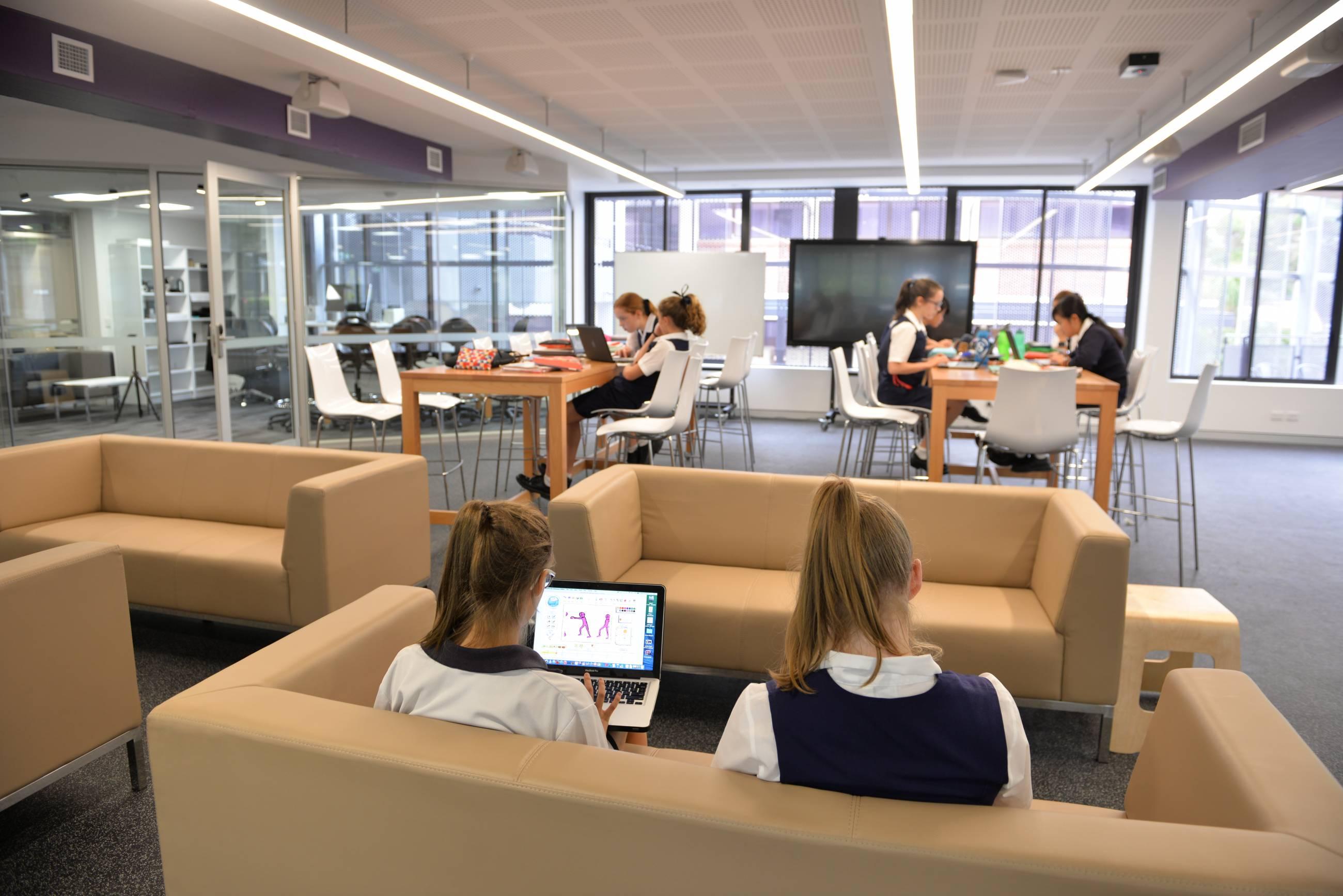 Innovative Classroom Furniture Australia ~ Design in modern education st hilda s school